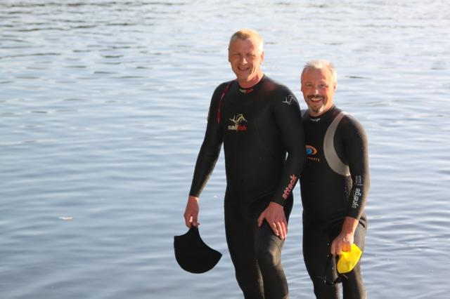Meg og Øyvind klar for trening