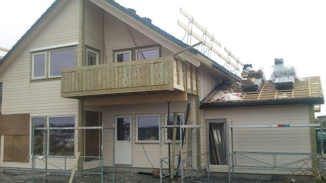Nytt hus på gang