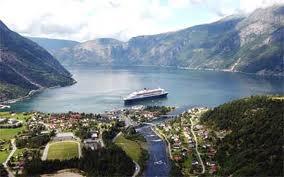 Det er vakkert i Eidfjord om sommeren.