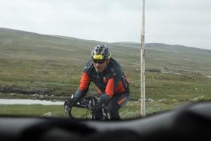 På vei over Hardangervidda.