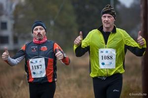 Sammen med min gode kompis Øyvind som også løp Bergen Ultra.