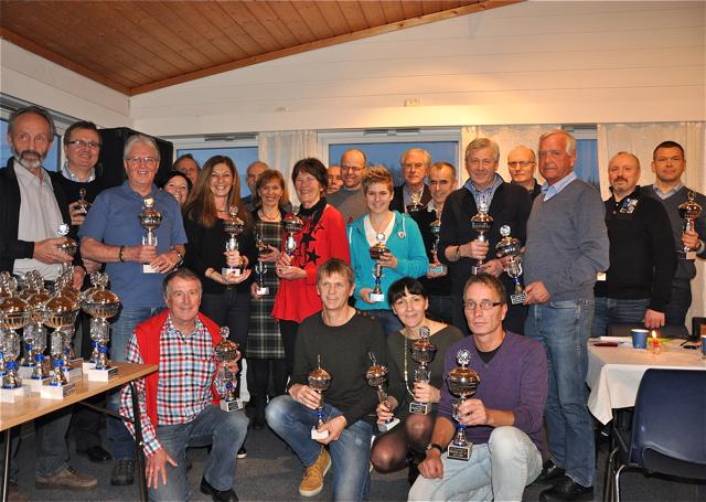 Pokal for 5 halv maraton på Bergensk jord