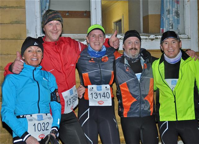 Gode løpevenner på vinterkarusellen.