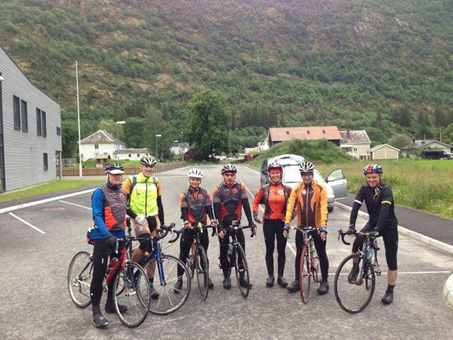 Bendik, Stig, Anne, Trond, Lisbeth, Arild og Claus.