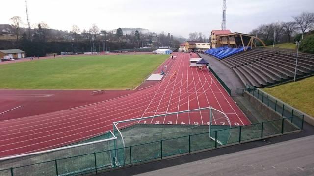Fana stadion er start sted for maratonkarusellen.