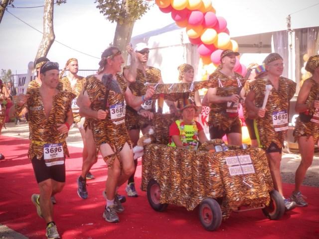 Medoc maraton løpet der tiden ikke teller.
