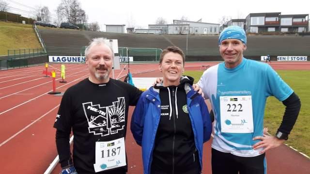 Gode løpe venner. Morten og Inger Johanne.